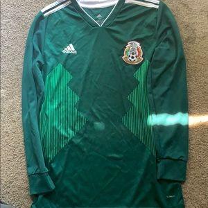 Mexico long sleeve jersey
